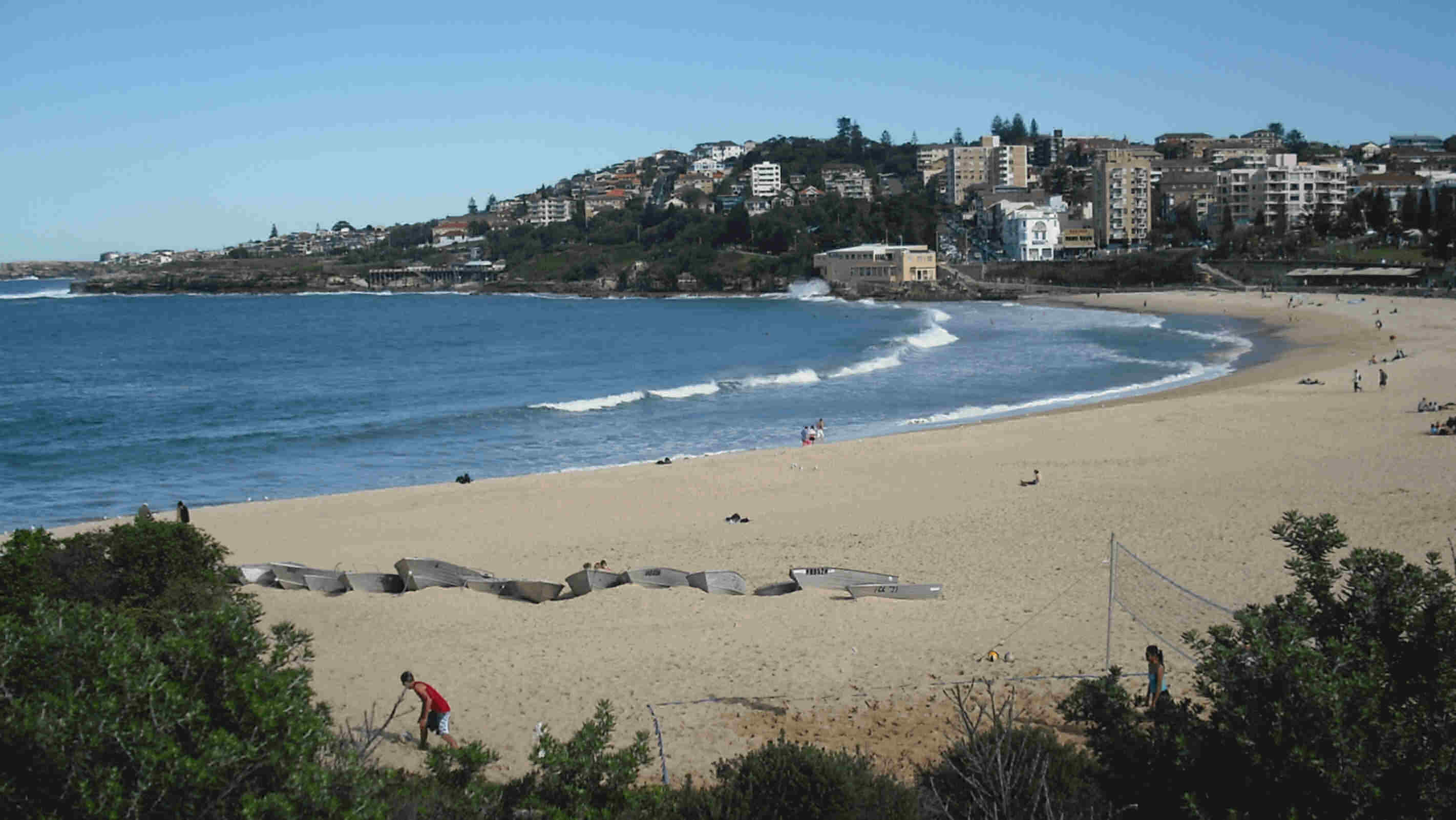 winter's silver sunshine on coogee beach june 2011 - view image to enlarge