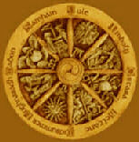 Wiccan/Pagan Wheel of the Year - source: www.mountainvalleycenter.com